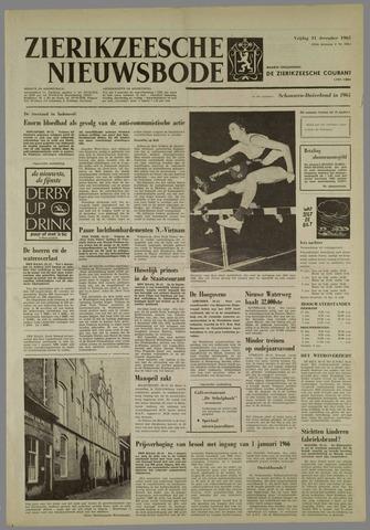 Zierikzeesche Nieuwsbode 1965-12-31