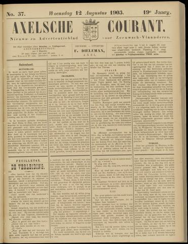 Axelsche Courant 1903-08-12