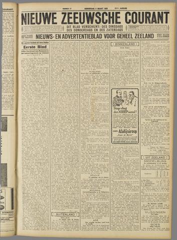 Nieuwe Zeeuwsche Courant 1931-03-05