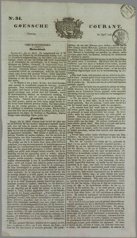 Goessche Courant 1834-04-28