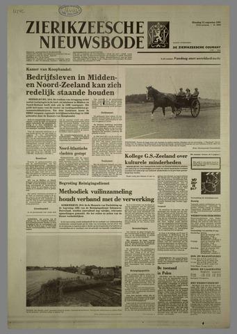 Zierikzeesche Nieuwsbode 1981-08-11