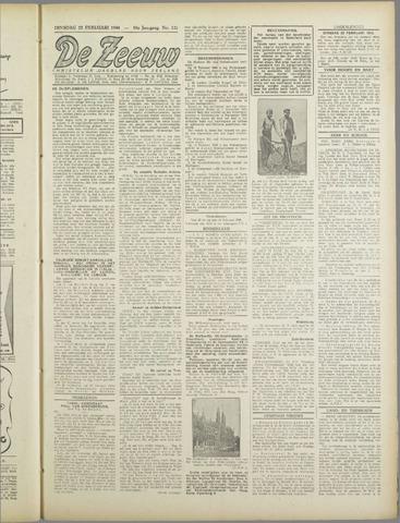 De Zeeuw. Christelijk-historisch nieuwsblad voor Zeeland 1944-02-22