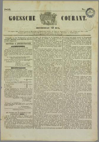 Goessche Courant 1853-05-12