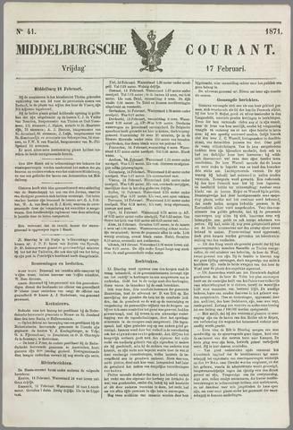 Middelburgsche Courant 1871-02-17