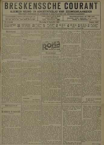 Breskensche Courant 1929-09-18