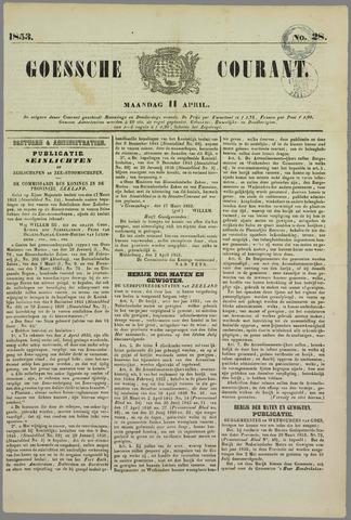 Goessche Courant 1853-04-11