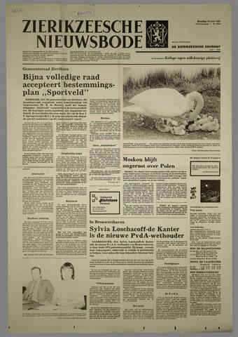 Zierikzeesche Nieuwsbode 1981-05-19