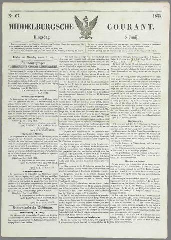 Middelburgsche Courant 1855-06-05