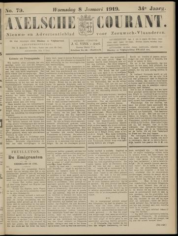 Axelsche Courant 1919-01-08