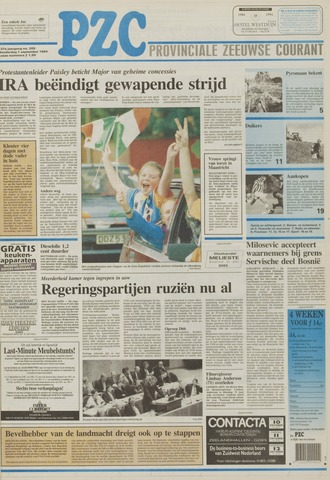 Provinciale Zeeuwse Courant 1994-09-01