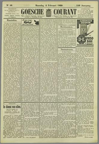 Goessche Courant 1929-02-04