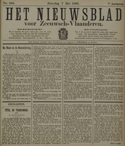 Nieuwsblad voor Zeeuwsch-Vlaanderen 1898-05-07