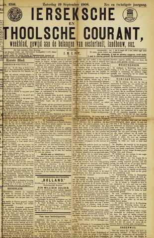 Ierseksche en Thoolsche Courant 1908-09-19