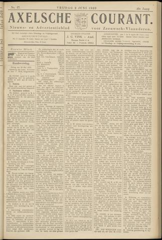 Axelsche Courant 1933-06-02