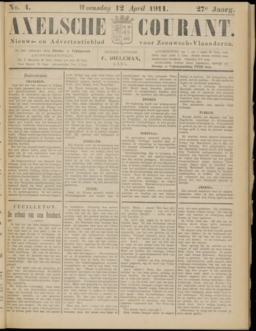 Axelsche Courant 1911-04-12