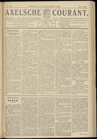 Axelsche Courant 1930-09-19