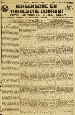 Ierseksche en Thoolsche Courant 1929-12-31