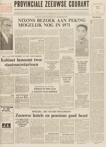 Provinciale Zeeuwse Courant 1971-07-17