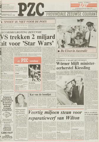 Provinciale Zeeuwse Courant 1984-02-02