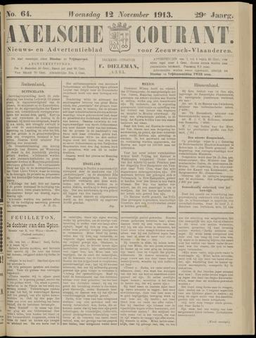 Axelsche Courant 1913-11-12
