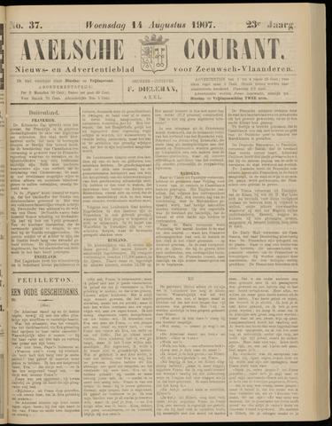 Axelsche Courant 1907-08-14