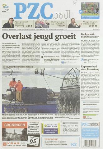 Provinciale Zeeuwse Courant 2008-10-21