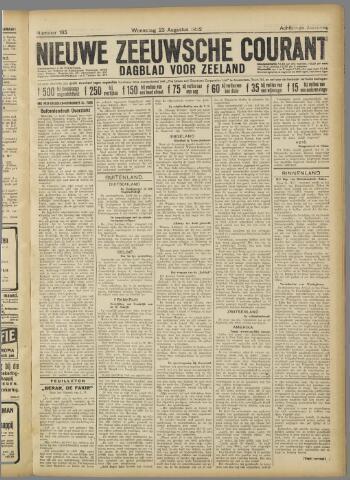 Nieuwe Zeeuwsche Courant 1922-08-23