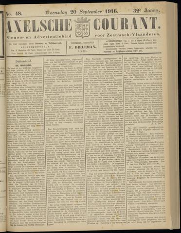 Axelsche Courant 1916-09-20
