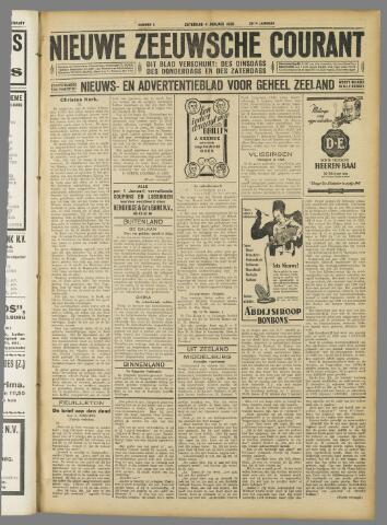 Nieuwe Zeeuwsche Courant 1930-01-04