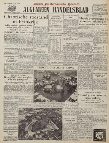 Watersnood documentatie 1953 - kranten 1953-08-11
