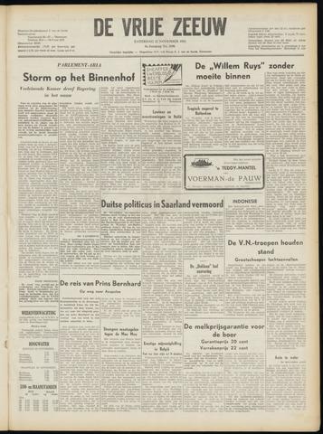 de Vrije Zeeuw 1952-11-22