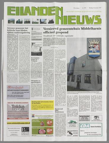 Eilanden-nieuws. Christelijk streekblad op gereformeerde grondslag 2007-12-18