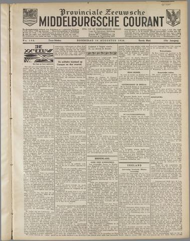 Middelburgsche Courant 1930-08-14