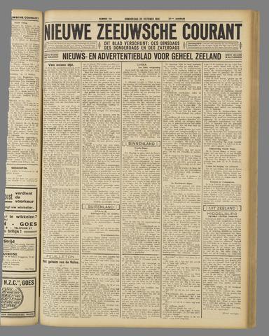 Nieuwe Zeeuwsche Courant 1931-10-22