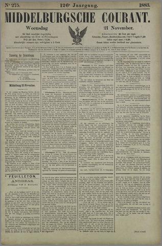 Middelburgsche Courant 1883-11-21