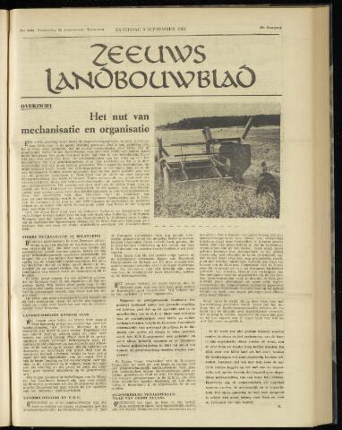 Zeeuwsch landbouwblad ... ZLM land- en tuinbouwblad 1961-09-09