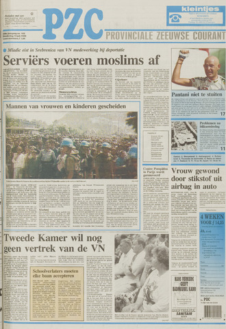 Provinciale Zeeuwse Courant 1995-07-13