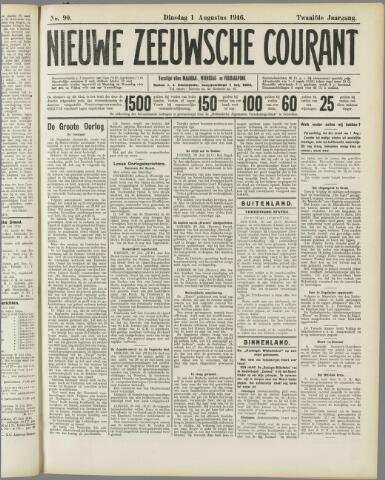 Nieuwe Zeeuwsche Courant 1916-08-01