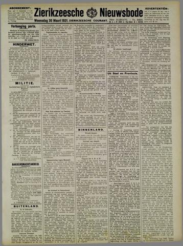 Zierikzeesche Nieuwsbode 1921-03-30