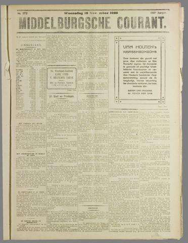 Middelburgsche Courant 1925-11-18