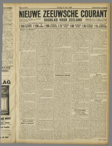 Nieuwe Zeeuwsche Courant 1921-04-15