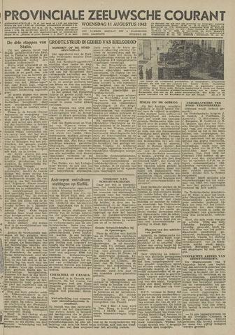 Provinciale Zeeuwse Courant 1943-08-11