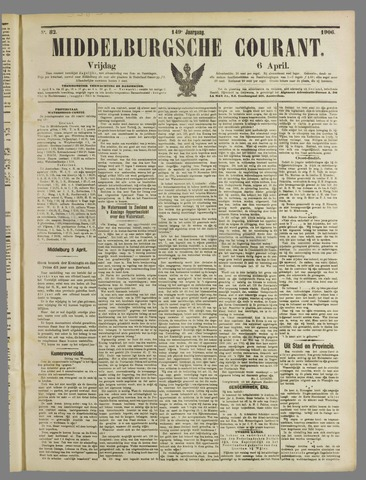 Middelburgsche Courant 1906-04-06