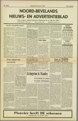 Noord-Bevelands Nieuws- en advertentieblad 1960-02-20