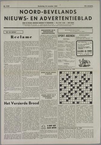 Noord-Bevelands Nieuws- en advertentieblad 1985-11-28