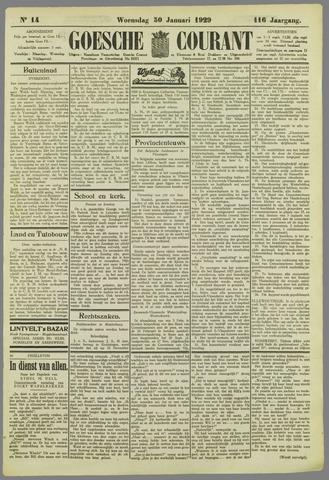 Goessche Courant 1929-01-30