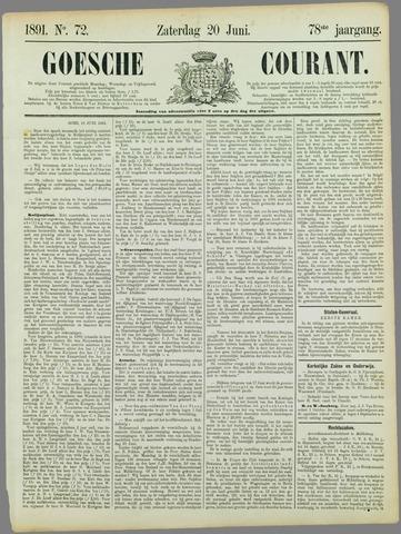 Goessche Courant 1891-06-20