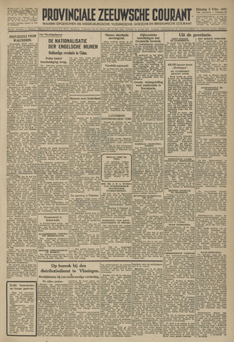 Provinciale Zeeuwse Courant 1946-02-05
