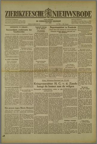 Zierikzeesche Nieuwsbode 1952-02-29