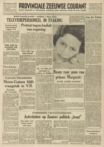Provinciale Zeeuwse Courant 1961-11-29